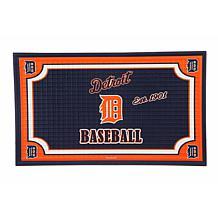 MLB Embossed Door Mat - Detroit Tigers