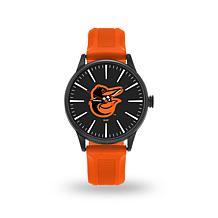 "MLB Sparo Team Logo ""Cheer"" Strap Watch - Orioles"