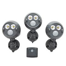 Mr. Beams UltraBright NetBright Spotlight 3-pk w/ Motion Sensor