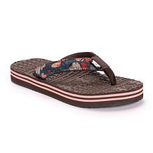 MUK LUKS Emma Flip Flop Sandals