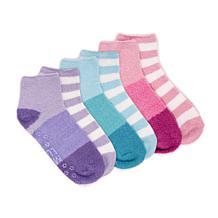 MUK LUKS® Women's Aloe Infused Crew Sock 6-Pair Pack