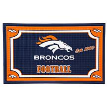 NFL Embossed Door Mat - Broncos