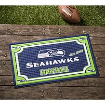 NFL Embossed Door Mat - Seahawks