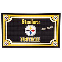 NFL Embossed Door Mat - Steelers