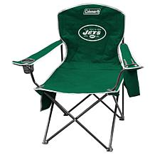 NFL Quad Chair with Armrest Cooler - Jets