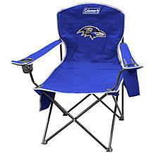 NFL Quad Chair with Armrest Cooler - Ravens