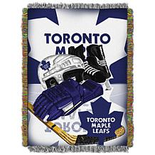 NHL Home Ice Advantage Tapestry Throw - Maple Leafs