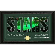 NHL Silhouette Panoramic Bronze Coin Photo Mint - Dallas Stars