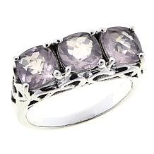 Nicky Butler 2.40ctw Rose Quartz Cushion-Cut Trio Ring