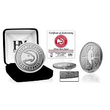 Officially Licensed Atlanta Hawks Silver Mint Coin