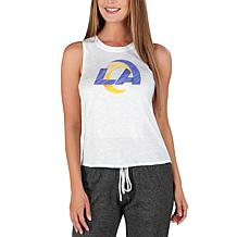 Officially Licensed by Concepts Sport NFL Gable Knit Tank - Rams