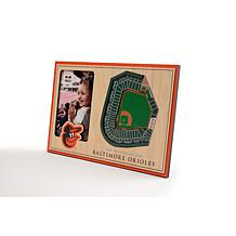 Officially Licensed MLB  3D StadiumViews Picture Frame - Orioles