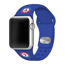 Officially Licensed MLB Apple Watchband 42/44mm - Texas Rangers