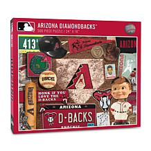 Officially Licensed MLB Arizona Diamondbacks 500-Piece Retro Puzzle