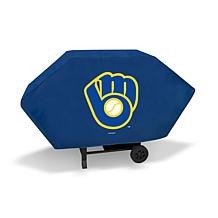 Officially Licensed MLB Executive Grill Cover - Brewers