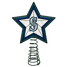 Officially Licensed MLB Mosaic Tree Topper - Mariners