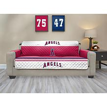 Officially Licensed MLB Sofa Protector - LA. Angels