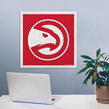 """Officially Licensed NBA 23"""" Felt Wall Banner - Atlanta"""
