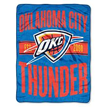 Officially Licensed NBA Clear Out Micro Raschel Throw Blanket- Thun...