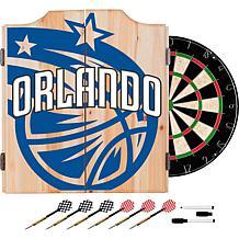 Officially Licensed NBA Dart Cabinet Set - Fade - Orlando Magic