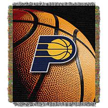 """Officially Licensed NBA """"Photo Real"""" Woven Tapestry Throw - Pacers"""