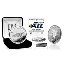Officially Licensed NBA Silver Mint Coin - Utah Jazz
