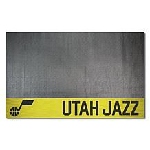 Officially Licensed NBA Vinyl Grill Mat  - Utah Jazz