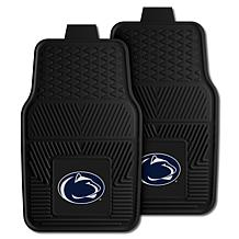 Officially Licensed NCAA 2pc Vinyl Car Mat Set - Penn State