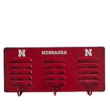 Officially Licensed NCAA 3-Hook Metal Coat Rack