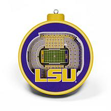 Officially Licensed NCAA 3D StadiumView Ornament 2-pack - LSU