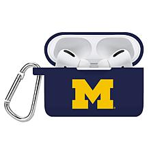 Officially Licensed NCAA Apple AirPods Pro Case Cover - MI Wolverines