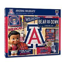 Officially Licensed NCAA Arizona Wildcats Retro 500-Piece Puzzle