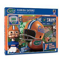 Officially Licensed NCAA Florida Gators Retro Series 500-Piece Puzzle