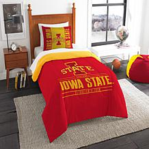 Officially Licensed NCAA Modern Take Twin Comforter Set -  Iowa State