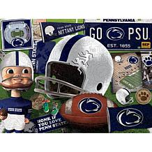Officially Licensed NCAA  Wooden Retro Series Puzzle - Penn State