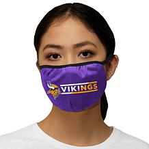Officially Licensed NFL 3-pack Face Covering by Glll