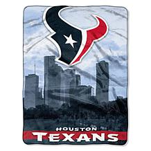 "Officially Licensed NFL 60"" x 80"" City View Silk Touch Throw"