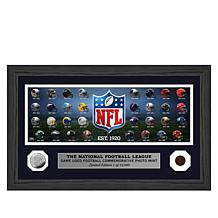 Officially Licensed NFL Collectible Frame with Coin