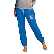 Officially Licensed NFL Concepts Sport Ladies' Knit Jogger Pant-Giants