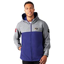 Officially Licensed NFL Transitional Softshell Hoodie by Glll