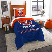 Officially Licensed NHL Draft Twin Comforter Set - Islanders