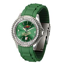 Officially Licensed NHL Sparkle Series Watch - Minnesota Wild