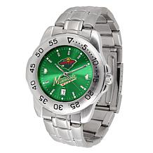 Officially Licensed NHL Sport Steel Series Watch - Minnesota Wild