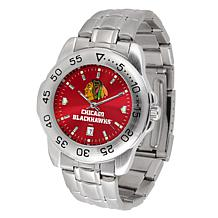 OfficiallyLicensed NHL SportSteel Series Watch - Chicago Blackhawks