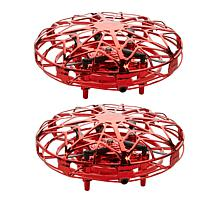 Orbital UFO Hand-Controlled Aircraft Drones 2-pack