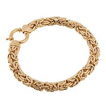 Passport to Gold 14K Yellow Gold Byzantine Bracelet