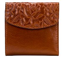 Patricia Nash Reiti Bi-Fold Tooled Leather Flap Wallet with RFID