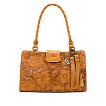Patricia Nash Rienzo Leather Satchel