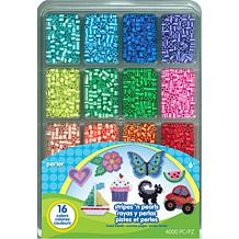 Perler 4,000-count Fused Bead Tray - Stripes 'n Pearls