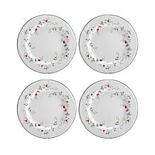 Pfaltzgraff Winterberry Set of 4 Salad Plates